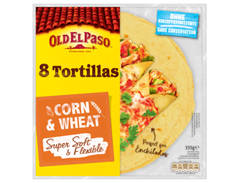 Eight Tortillas Corn And Wheat Super Soft